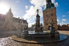 grodowy Denmark Frederiksborg Fotografia Stock
