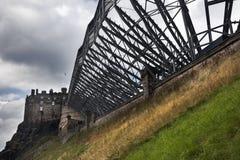 Grodowy Edinburg Zdjęcia Royalty Free