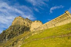grodowy Edinburgh Fotografia Royalty Free