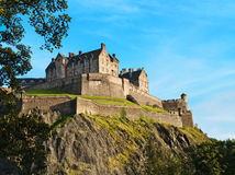 grodowy Edinburgh obrazy royalty free