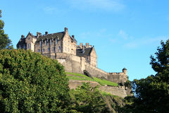 grodowy Edinburgh Obraz Royalty Free