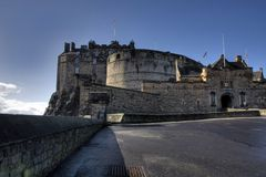 grodowy Edinburgh Obrazy Royalty Free