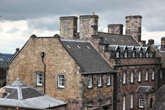grodowy Edinburgh Scotland uk Zdjęcia Stock