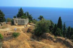 grodowy Greece grodowy parga Zdjęcie Royalty Free