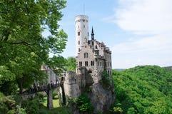 grodowy gutenberg Liechtenstein Zdjęcia Royalty Free