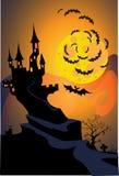 grodowy Halloween Obrazy Stock