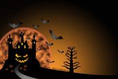 grodowy Halloween ilustracji