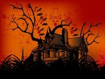 grodowy Halloween szczęśliwy Obrazy Royalty Free