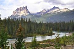 Grodowy Halny Banff park narodowy Zdjęcia Stock