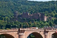 grodowy Heidelberg Zdjęcia Stock