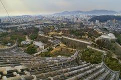 grodowy Himeji Japan majestatyczny Fotografia Stock