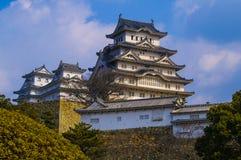 grodowy Himeji Japan majestatyczny Fotografia Royalty Free