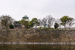 grodowy Himeji Osaka obraz royalty free