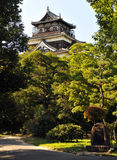 grodowy Hiroshima obrazy stock