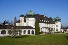 Grodowy Hoehenried, Bavaria, Niemcy Fotografia Stock