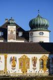 Grodowy Hoehenried, Bavaria, Niemcy Obraz Stock