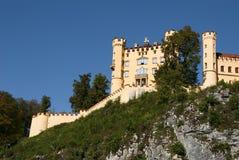 grodowy hohenschwangau obrazy royalty free