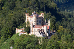 Grodowy hohenschwangau Zdjęcia Stock