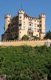Grodowy Hohenschwangau w Bavaria, Niemcy Obrazy Royalty Free