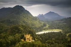 Grodowy Hohenschwangau w Niemcy Zdjęcia Royalty Free