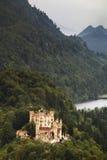 Grodowy Hohenschwangau w Niemcy Obrazy Royalty Free