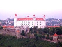 Grodowy hrad w Bratislava Fotografia Royalty Free