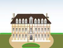grodowy ilustracyjny pałac Obraz Royalty Free