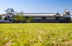 grodowy Japan Kanazawa Obrazy Stock