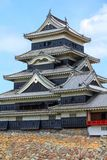 grodowy Japan Matsumoto Obrazy Royalty Free