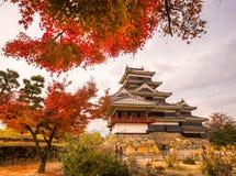 grodowy Japan Matsumoto Zdjęcia Royalty Free