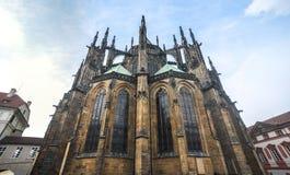 grodowy katedralny hdr fotografii Prague st vitus obrazy stock