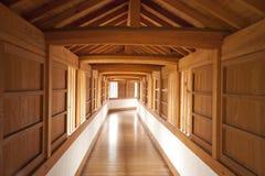 grodowy korytarz Himeji wewnętrzny Japan Fotografia Stock