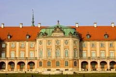 grodowy królewski Warsaw zdjęcie royalty free