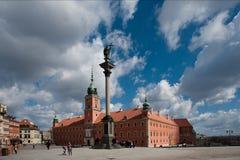 grodowy królewski Warsaw ws Fotografia Royalty Free