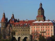 Grodowy Ksiaz w Wałbrzyskim Zdjęcie Royalty Free