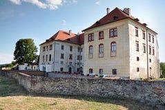 Grodowy Kunstat, republika czech, Europa Obrazy Royalty Free