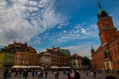 grodowy kwadratowy Warsaw Zdjęcie Stock