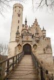 Grodowy Lichtenstein, Niemcy zdjęcie royalty free