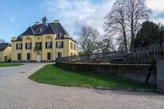 Grodowy Linn, Krefeld, Niemcy - Zdjęcia Stock