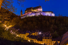 grodowy Luxembourg vianden Fotografia Royalty Free