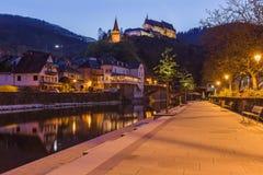 grodowy Luxembourg vianden Zdjęcie Stock