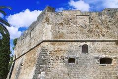 Grodowy Manfredonia Foggia, Puglia, Włochy (,) Fotografia Royalty Free