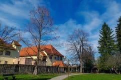 Grodowy Neuenbuerg blisko Pforzheim, Czarny las, Niemcy Obrazy Royalty Free