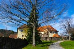 Grodowy Neuenbuerg blisko Pforzheim, Czarny las, Niemcy Obrazy Stock