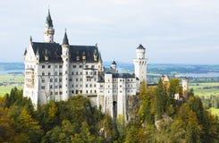Grodowy Neuschwanstein Fotografia Royalty Free