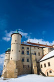 Grodowy Nowy Wisnicz w Polska Fotografia Royalty Free