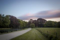Grodowy ogród w holandiach Zdjęcie Stock