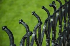 Grodowy ogrodzenie Zdjęcie Stock