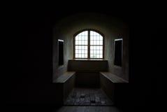 grodowy okno Fotografia Royalty Free