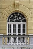 Grodowy okno Zdjęcie Stock